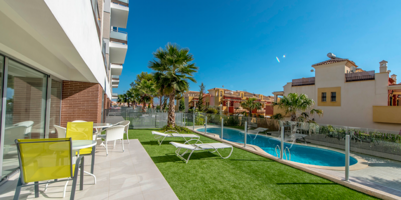 New Build Apartments for Sale in Villamartin