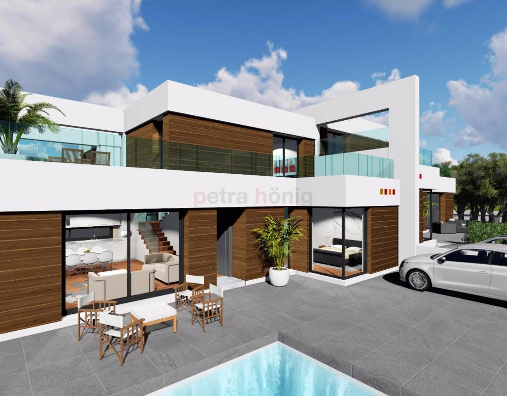 Nouvelle construction villa alicante benijofar for Construction villa